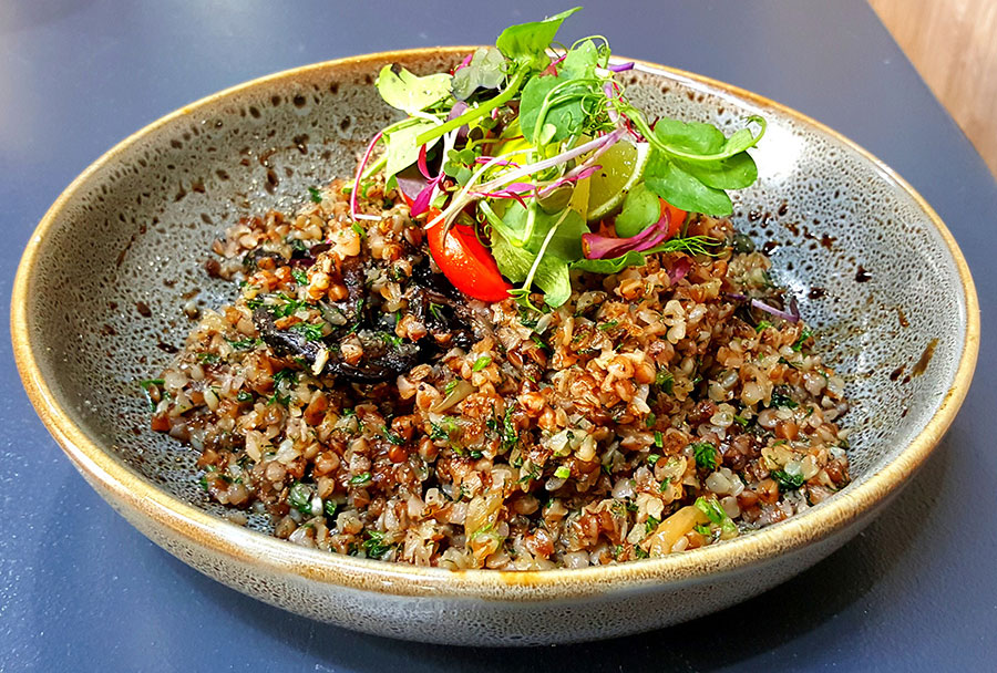roasted buckwheat kasha meal